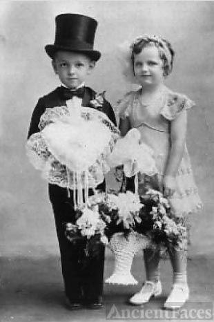 Hartman Children at Wedding