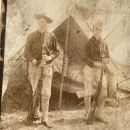 Old 1800s military photo