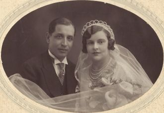 Maria Poirson and Dalmacio Ramon wedding