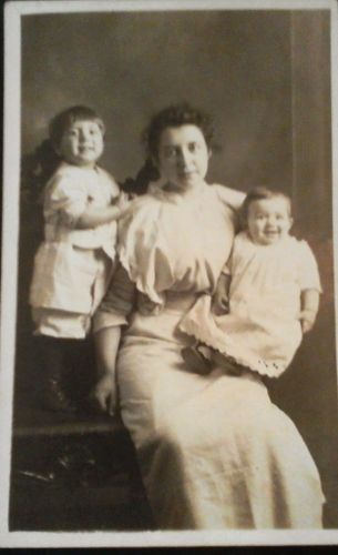 Unknown family, postcard