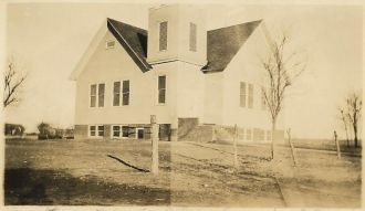 Rebuilt Dalton M.E. Church