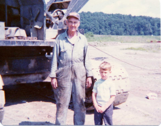 Earl Edward Smith and grandson