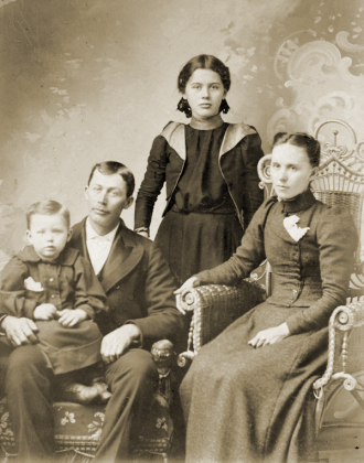 Daniel Lewis Terrill and family