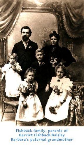 Harriett Martineau Fishback Family, 1903