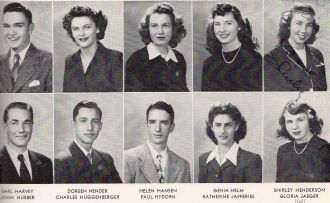 Earl Harvey and Graduation Class