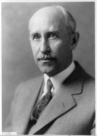A photo of Orville Wright