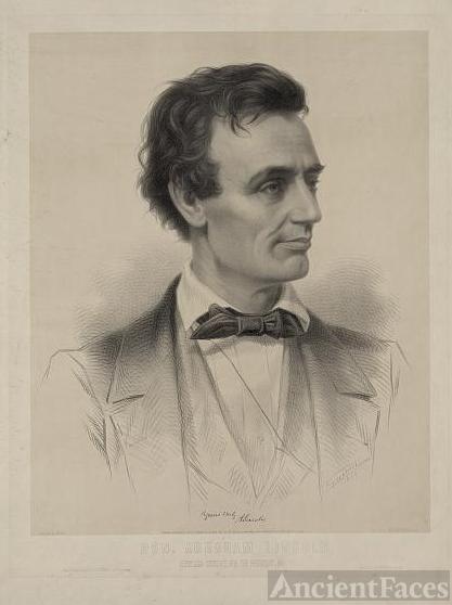 Hon. Abraham Lincoln, Republican candidate
