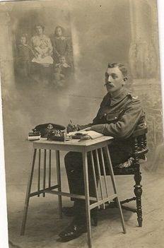 Samson Charles Gray 1914-18 war