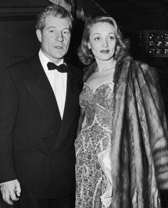 Marlene Dietrich and Jean Gabin