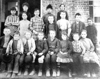 Splinter School 1910 Indiana