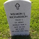 Wilmon L Richardson Gravesite
