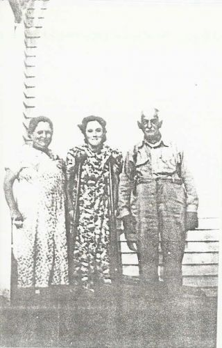Rose Neal, Madeline Tanksley, & Homer Sheeks