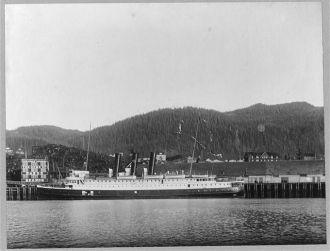"Grand Trunk Pacific Steamship ""Prince Rupert"""
