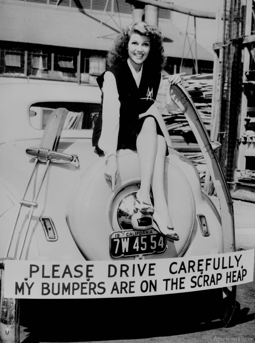 Rita Hayworth, World War Two