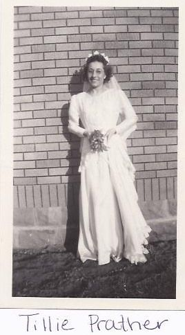 Othilia Bertha (Bender) Prather wedding