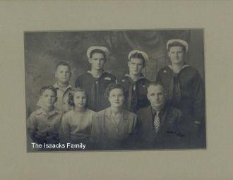 Edward Issacks Family