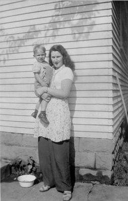 Lina Ruth Ball and Little Tony Szabo