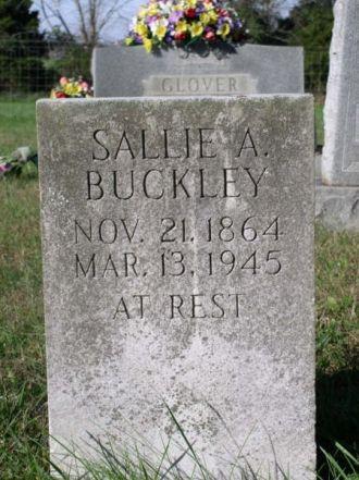 Buckley, Sallie A.-Tombstone