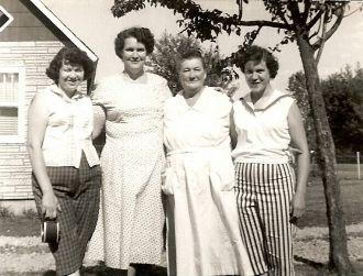 Ruth, Mae Bessie and Lousie