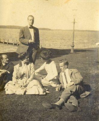 Ed Bahm, Illinois, 1907