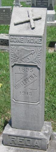 Josephine Reda gravesite