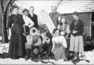 James H. Aker Family, NJ 1920