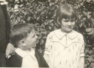 Lorraine and Sonny Lucas abt 1932