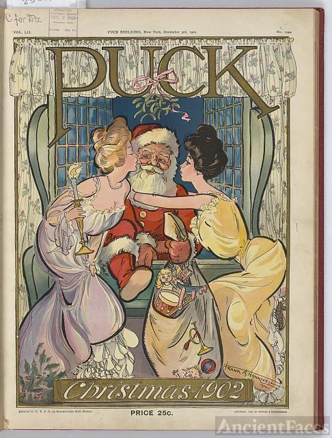 Puck Christmas 1902 / Frank A. Nankivell 1902.
