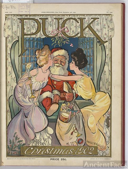 Puck Christmas 1902 / Frank A. Nankivell 1902.