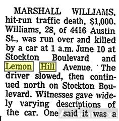 Marshall Williams Obituary pt 1