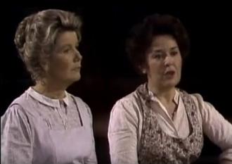 Sada Thompson and Barbara Bel Geddes
