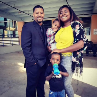 Julius Price & his daughter