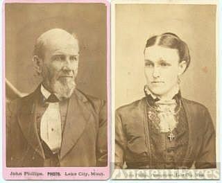 Mr. and Mrs. Siegler of Lake City, Minnesota