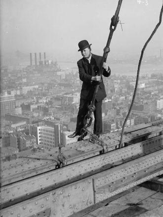 Before Buster Keaton filmed it . . .