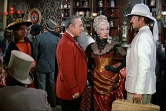 Marlene Dietrich, George Raft,  David Niven