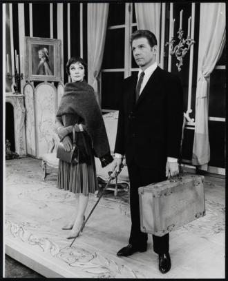 Jean-Pierre Aumont and Vivien Leigh
