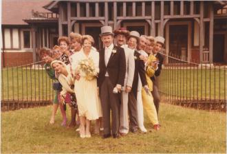 Alice and Jeffrey Frankel's wedding photo