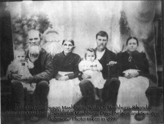 Mashburn, Noah O.  and Family
