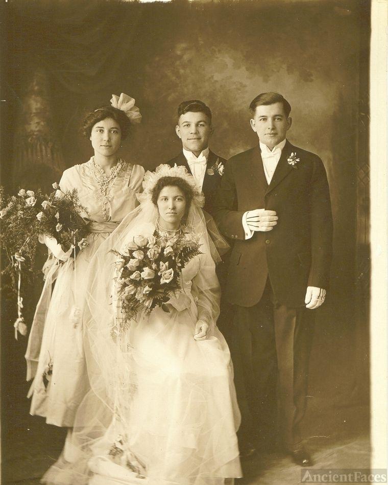 Albert J and Maria Jacinta Silveira wedding
