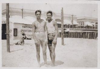 Howard Van Buskirk & friend, New Jersey