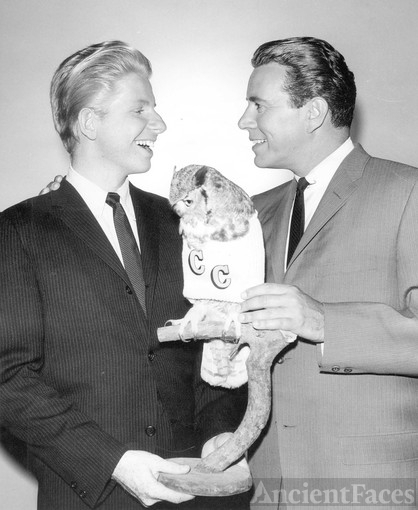 Jimmy Devon Boyd and John Forsythe