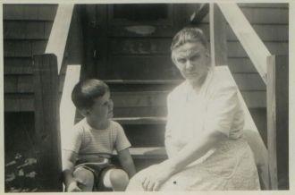 Willaim Gallagher & Dorothea Heidke, 1945