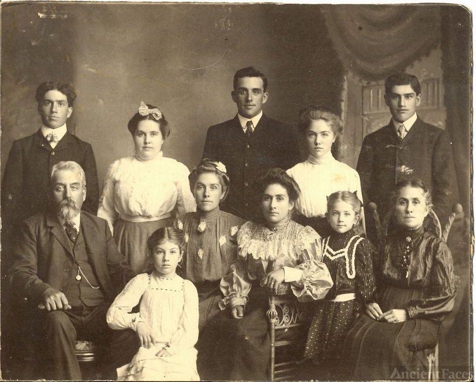 George Saunders Brown Family