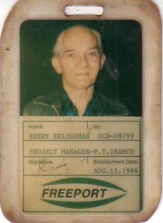 Henry Krijgsman