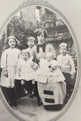 Martha Ann (Vincent) Millea family