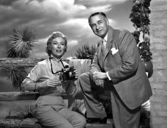 Greer Garson and Mervyn LeRoy