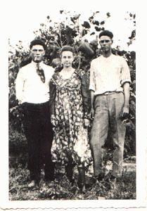 Morris,  Chapman Family in Ada, OK