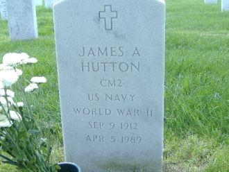 Gravesite James A Hutton