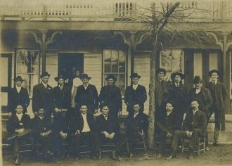 Tate House Boarders, Tennessee 1880's