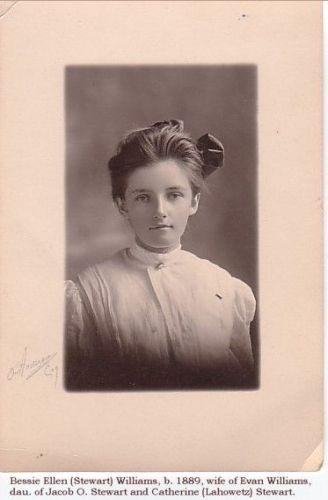 Bessie Ellen (Stewart) Williams